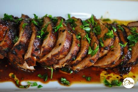 How to make a pork tenderloin roast in the oven