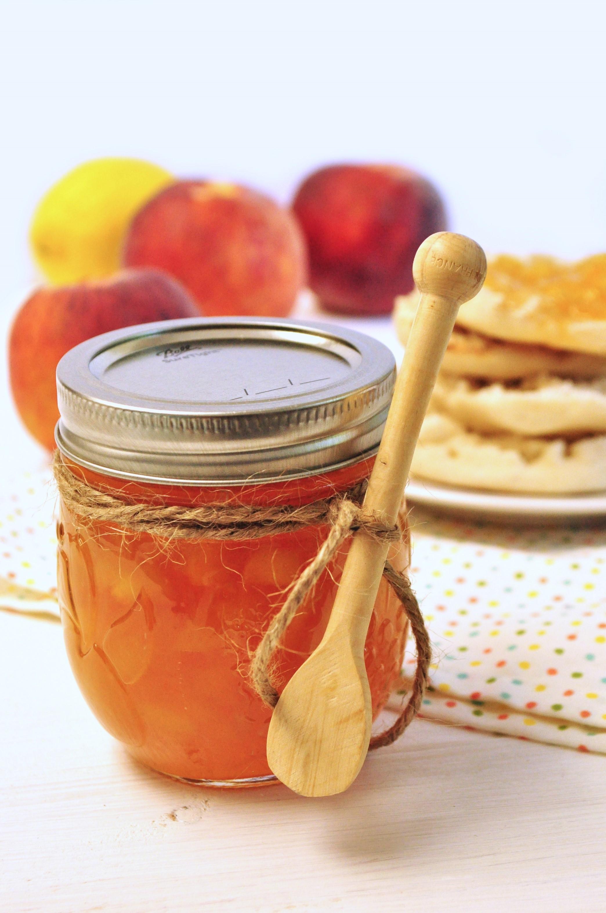 Peach Maple Whiskey Jam — Debbie Macomber
